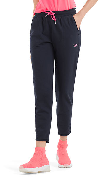 Pants with neon details
