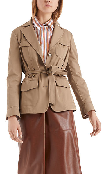 Safari-Jacke aus Baumwolle