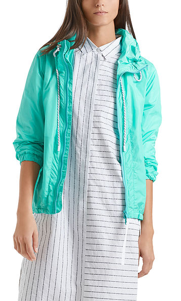 Outdoor-Jacke mit Netzfutter
