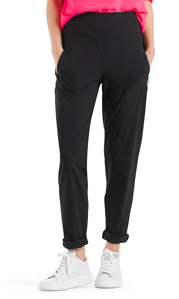 Pants in stretch jersey